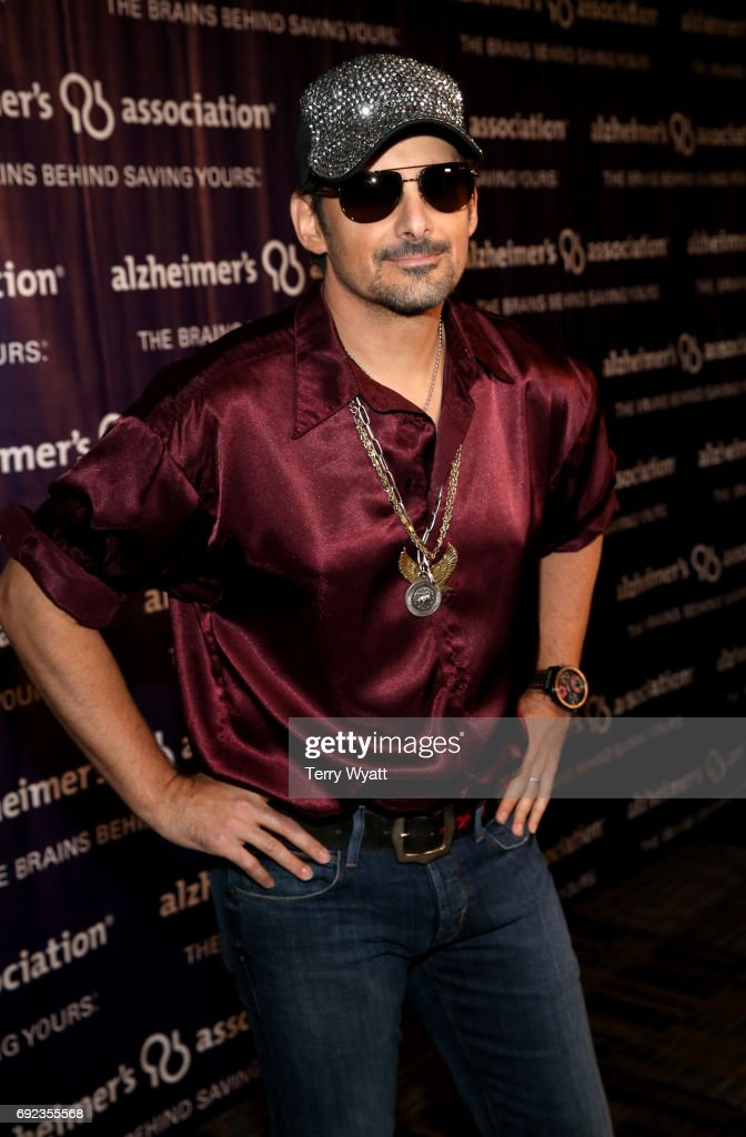 Singer-songwriter Brad Paisley attends the Nashville Disco Party Benefiting Alzheimer's Association on June 4, 2017 in Nashville, Tennessee.
