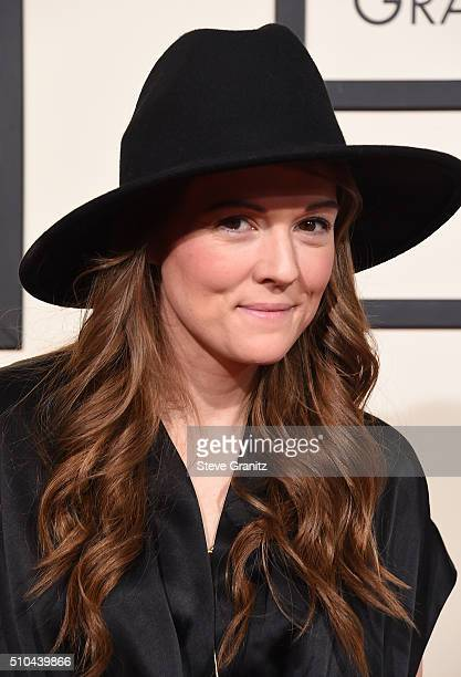 Singersongwriter Brandi Carlile attends The 58th GRAMMY Awards at Staples Center on February 15 2016 in Los Angeles California