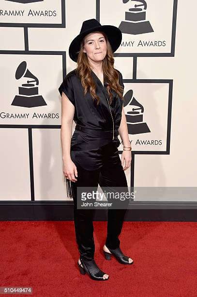 Singer/Songwriter Brandi Carlile attends The 58th GRAMMY Awards at Staples Center on February 15 2016 in Los Angeles California