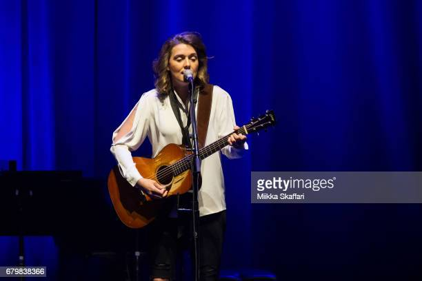 Singersongwriter Brandi Carlile performs at The Masonic Auditorium on May 6 2017 in San Francisco California