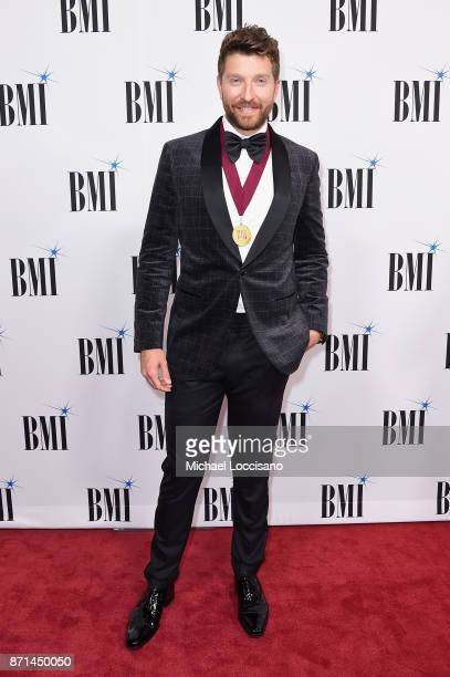 Singersongwriter Brett Eldredge attends the 65th Annual BMI Country awards on November 7 2017 in Nashville Tennessee