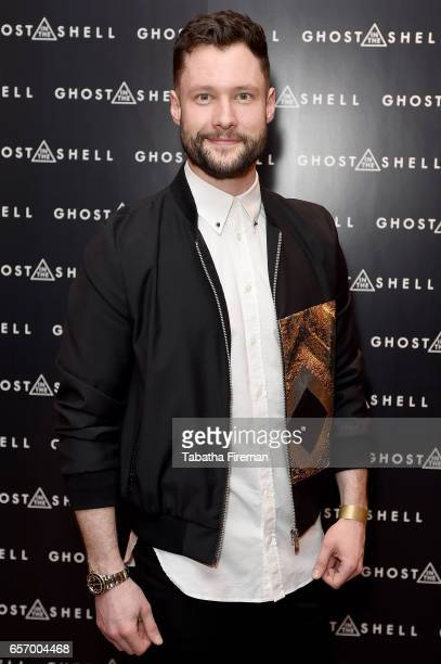 Singersongwriter Calum Scott attends the 'Ghost in The Shell' London Gala Screening on March 23 2017 in London United Kingdom
