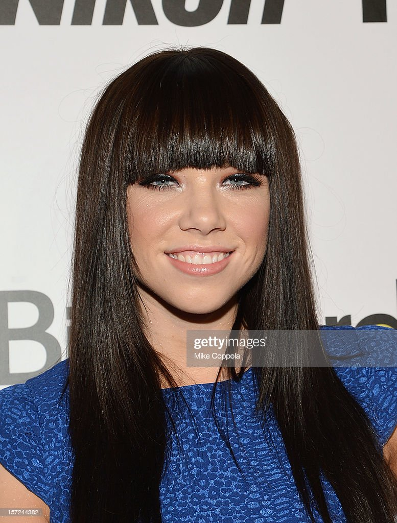Singer/songwriter <a gi-track='captionPersonalityLinkClicked' href=/galleries/search?phrase=Carly+Rae+Jepsen&family=editorial&specificpeople=6903584 ng-click='$event.stopPropagation()'>Carly Rae Jepsen</a> attends the 2012 Billboard Women In Music Luncheon at Capitale on November 30, 2012 in New York City.