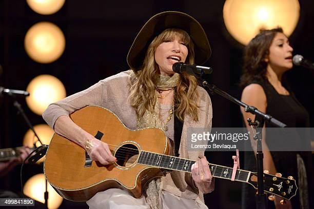THE VIEW Singersongwriter Carly Simon performs with her son Ben Taylor on 'THE VIEW' airing December 4 2015 on the ABC Television Network