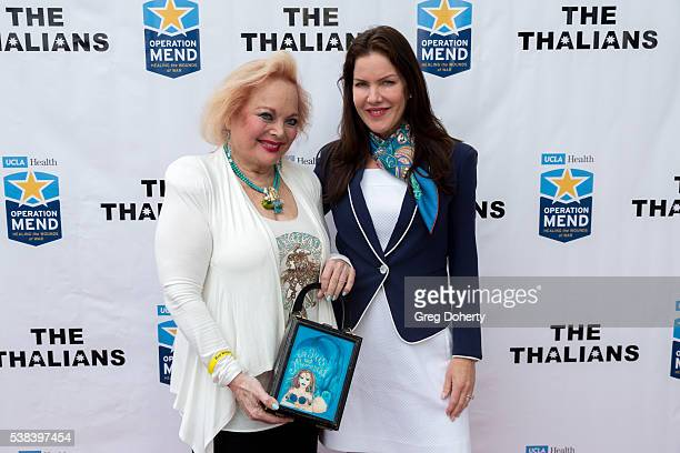 Singersongwriter Carol Connors and Actress Kira Reed Lorsch attends The Thalians Presidents Club Anchors Away Brunch at the California Yacht Club on...