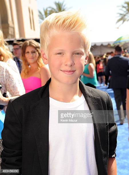 Singer/songwriter Carson Lueders attends FOX's 2014 Teen Choice Awards at The Shrine Auditorium on August 10 2014 in Los Angeles California