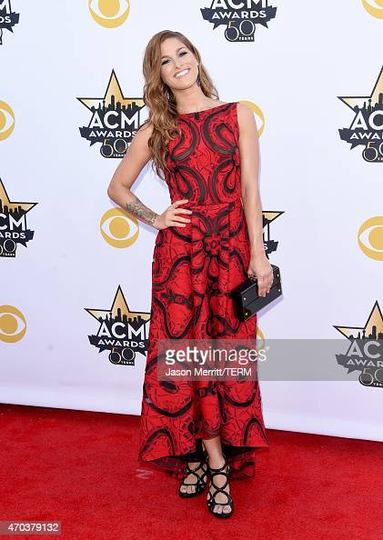 Singer/songwriter Cassadee Pope attends the 50th Academy of Country Music Awards at ATT Stadium on April 19 2015 in Arlington Texas