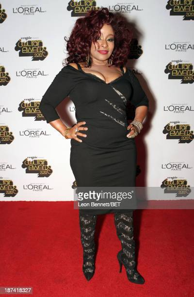 Singer/songwriter Chaka Khan attends the Soul Train Awards 2013 at the Orleans Arena on November 8 2013 in Las Vegas Nevada