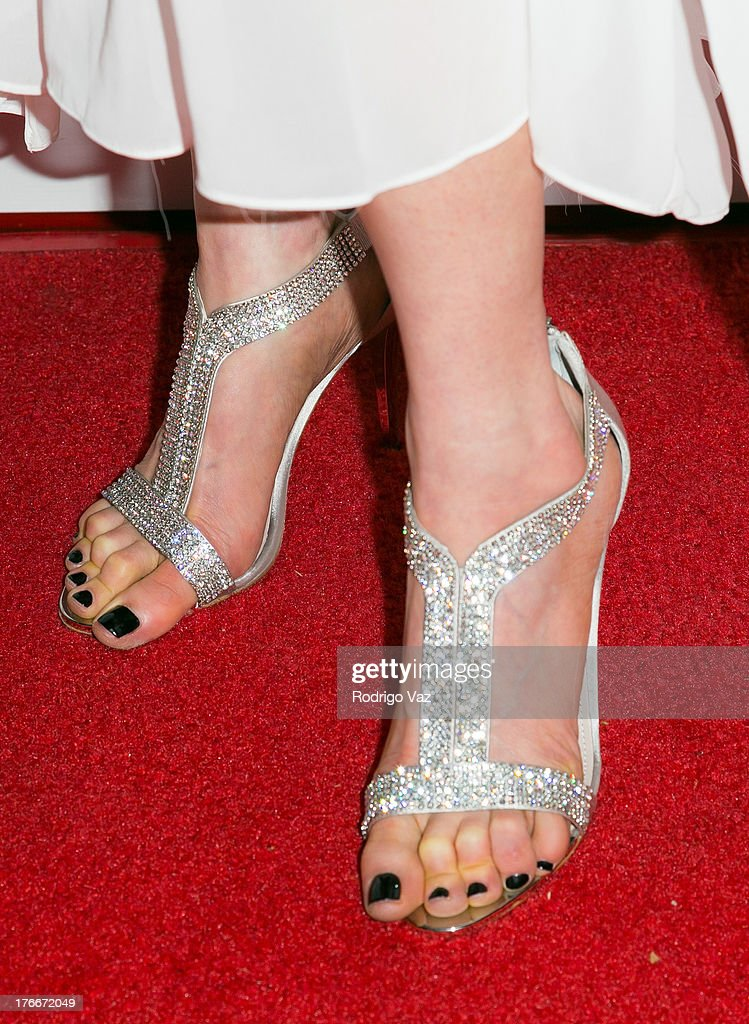 Singer/songwriter Characula (shoe detail) attends 'Let Me Out' Los Angeles Premiere at Downtown Independent Theatre on August 16, 2013 in Los Angeles, California.