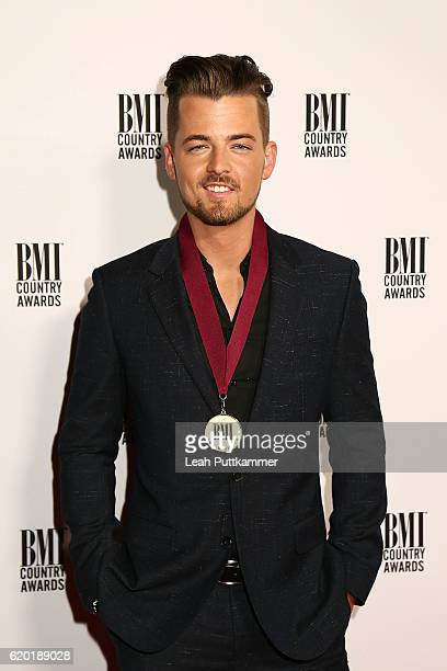 Singersongwriter Chase Bryant attends the 64th Annual BMI Country awards on November 1 2016 in Nashville Tennessee