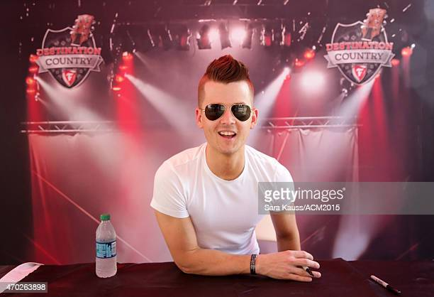 Singersongwriter Chase Bryant attends the ACM Party For A Cause Festival at Globe Life Park in Arlington on April 18 2015 in Arlington Texas