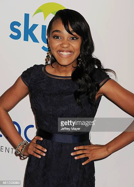 Singer/songwriter China Anne McClain attends the 5th Annual Thirst Gala hosted by Jennifer Garner in partnership with Skyo and Relativity's 'Earth To...