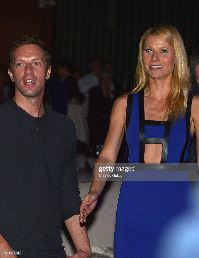 Singer/Songwriter Chris Martin and actress Gwyneth Paltrow attend Hollywood Stands Up To Cancer Event with contributors American Cancer Society and...