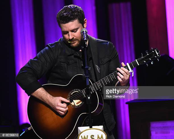 Singer/Songwriter Chris Young performs at Jason Aldean's 11th Annual Event Benefitting Susan G Komen As Part of 'Opry Goes Pink' Jason Aldeans...