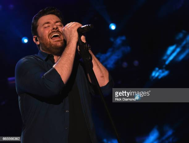 Singer/Songwriter Chris Young performs during Day 1 Country Thunder Music Festival Arizona on April 6 2017 in Florence Arizona