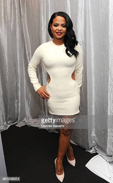 Singersongwriter Christina Milian attends AOL BUILD Series Christina Milian 'Grandfathered' and 'Christina Milian Turned Up' at AOL Studios In New...