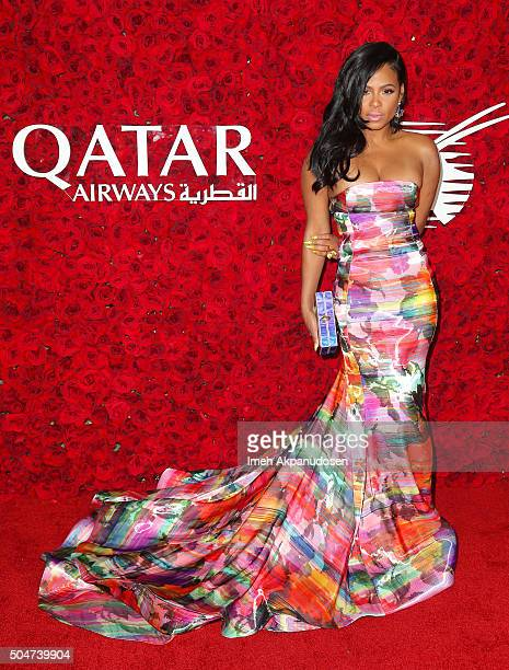 Singer/songwriter Christina Milian attends the Qatar Airways Los Angeles Gala at Dolby Theatre on January 12 2016 in Hollywood California