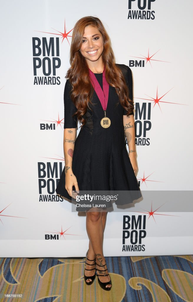 Singer/Songwriter Christina Perri attends the 2013 BMI Pop Awards at the Beverly Wilshire Four Seasons Hotel on May 14, 2013 in Beverly Hills, California.