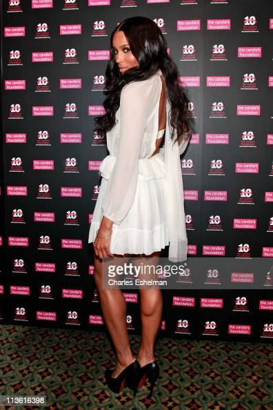 Singer/songwriter Ciara attends the Candie's Foundation 2011 event to prevent benefit gala at Cipriani 42nd Street on May 3 2011 in New York City