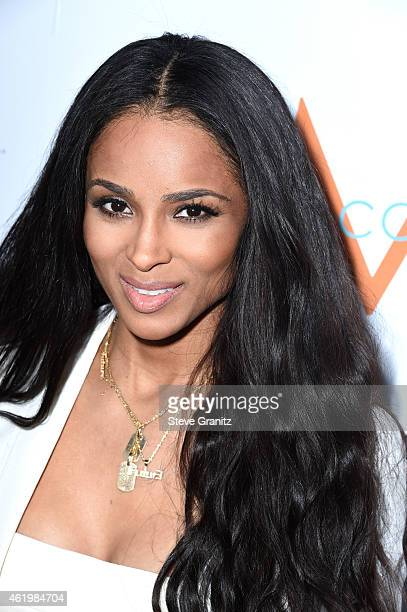 Singer/songwriter Ciara attends The Daily Front Row's 1st Annual Fashion Los Angeles Awards at Sunset Tower Hotel on January 22 2015 in West...
