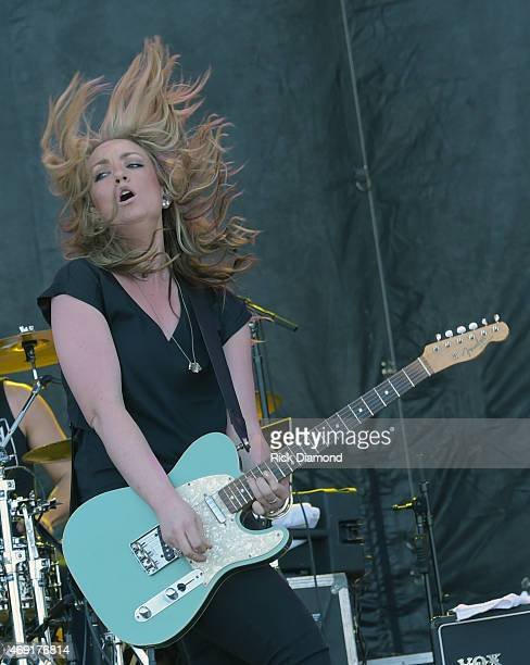 Singer/Songwriter Clare Dunn performs at Country Thunder USA Day 1 on April 9 2015 in Florence Arizona