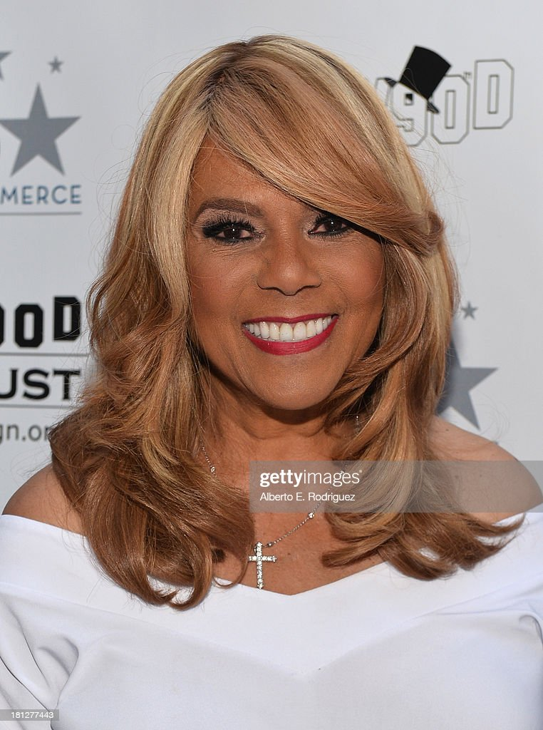 Singer/songwriter Claudette Rogers Robinson attends The Hollywood Chamber of Commerce & The Hollywood Sign Trust's 90th Celebration of the Hollywood Sign at Drai's Hollywood on September 19, 2013 in Hollywood, California.