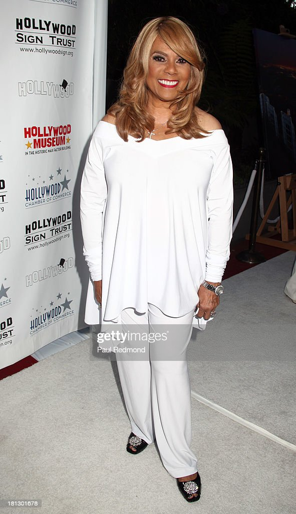 Singer/songwriter Claudette Rogers Robinson attends The Hollywood Chamber Of Commerce/The Hollywood Sign Trust's 'White Party' Celebrating 90th Anniversary Of The Hollywood Sign at Drai's Hollywood on September 19, 2013 in Hollywood, California.