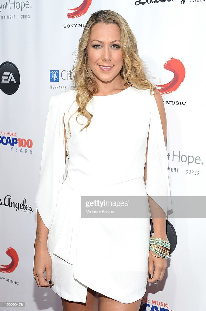 Singer/Songwriter <a gi-track='captionPersonalityLinkClicked' href=/galleries/search?phrase=Colbie+Caillat&family=editorial&specificpeople=4410812 ng-click='$event.stopPropagation()'>Colbie Caillat</a> arrives at City of Hope's 10th Anniversary 'Songs Of Hope' on June 4, 2014 in Brentwood, California.