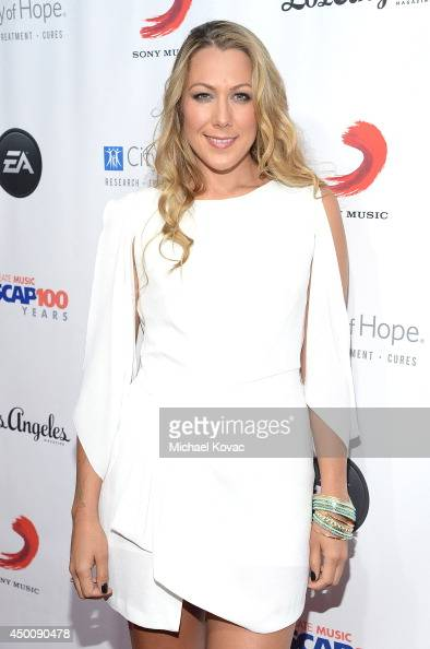 Singer/Songwriter Colbie Caillat arrives at City of Hope's 10th Anniversary 'Songs Of Hope' on June 4 2014 in Brentwood California