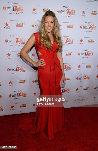 Singersongwriter Colbie Caillat attends Go Red For Women The Heart Truth Red Dress Collection 2014 Show Made Possible By Macy's And SUBWAY...