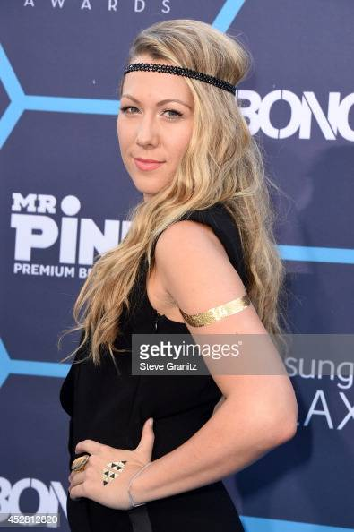 Singersongwriter Colbie Caillat attends the 2014 Young Hollywood Awards brought to you by Mr Pink held at The Wiltern on July 27 2014 in Los Angeles...