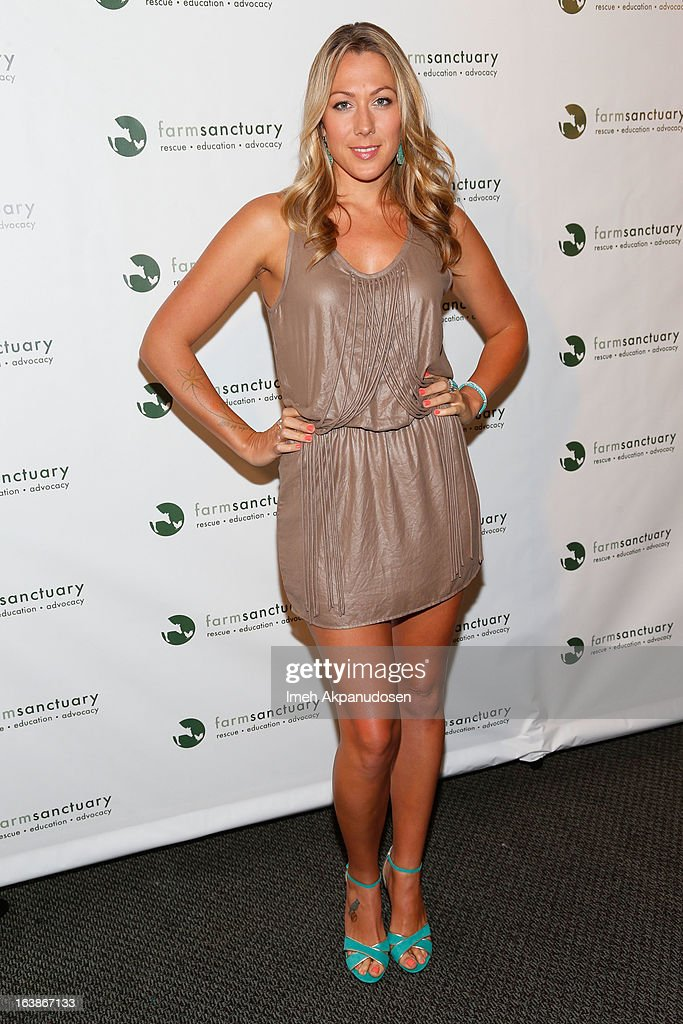 Singer/songwriter Colbie Caillat attends the Fun For Animals Celebrity Poker Tournament & Cocktail Party at Petersen Automotive Museum on March 16, 2013 in Los Angeles, California.