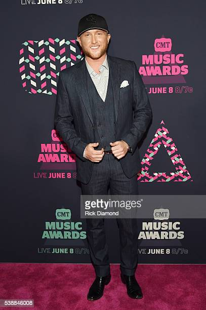 Singersongwriter Cole Swindell attends the 2016 CMT Music awards at the Bridgestone Arena on June 8 2016 in Nashville Tennessee