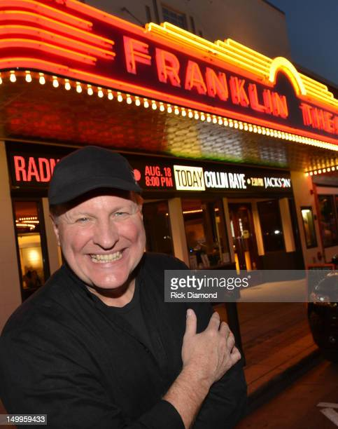 Singer/Songwriter Collin Raye poses outdoors before performing at the concert to benefit the Buddy Care Foundation at Franklin Theatre on August 7...