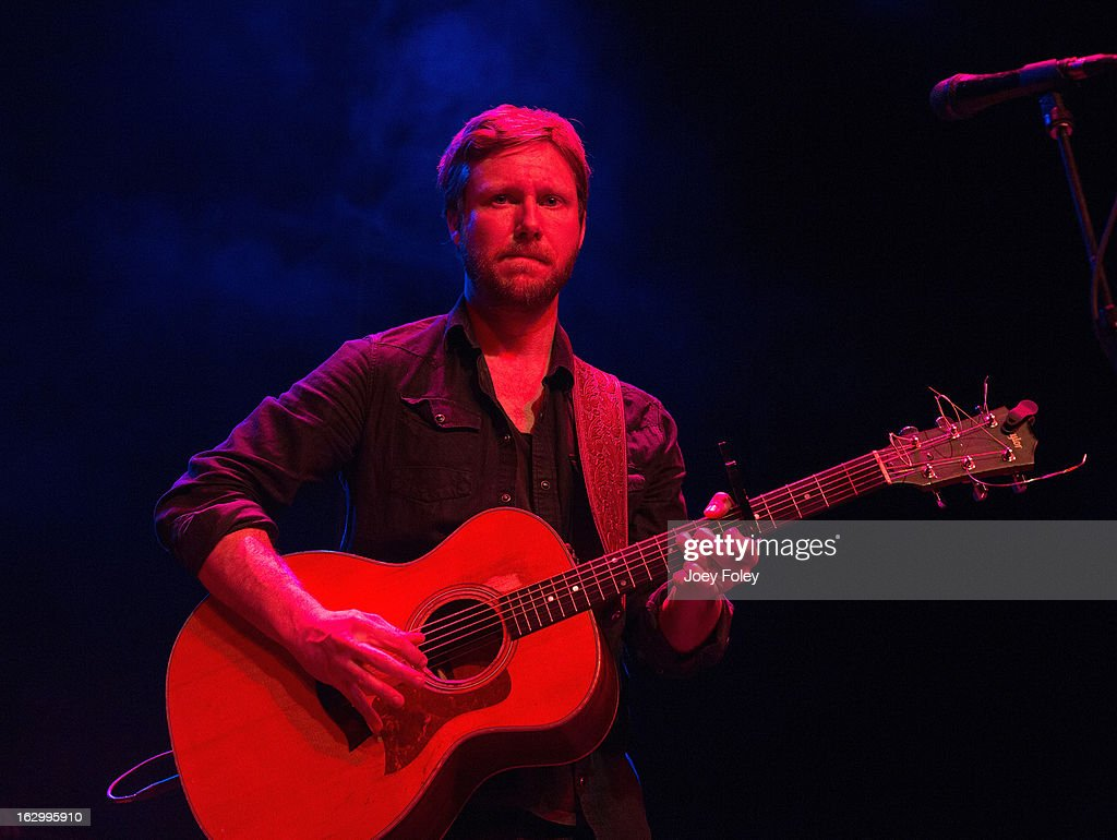 Singer-songwriter Cory Branan performs in concert at Egyptian Room at Old National Centre on March 2, 2013 in Indianapolis, Indiana.