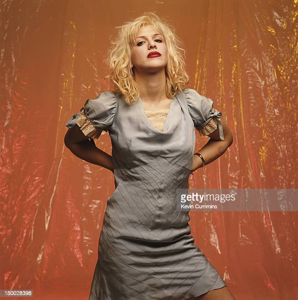 Singersongwriter Courtney Love of American alternative rock group Hole March 1993