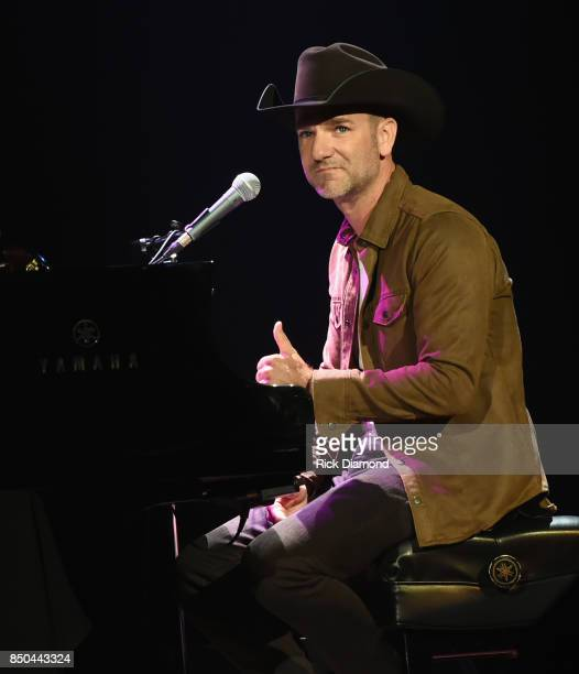 Singer/Songwriter Craig Campbell performs during NSAI 50 Years of Songs at Ryman Auditorium on September 20 2017 in Nashville Tennessee