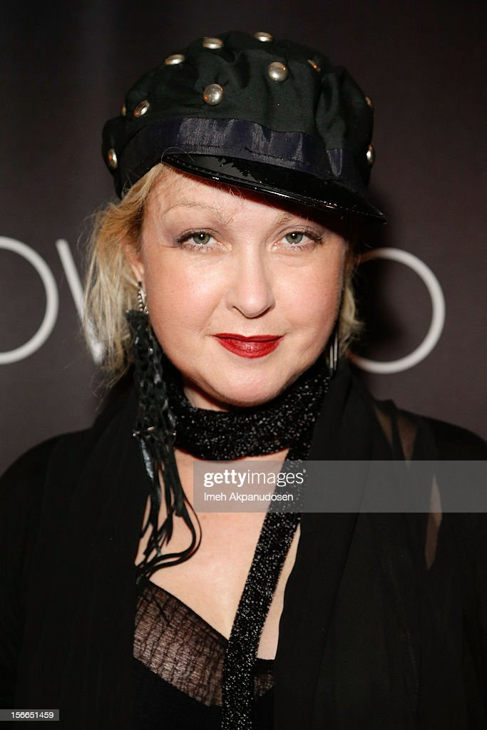 Singer/songwriter <a gi-track='captionPersonalityLinkClicked' href=/galleries/search?phrase=Cyndi+Lauper&family=editorial&specificpeople=171290 ng-click='$event.stopPropagation()'>Cyndi Lauper</a> attends The Official AMA Artist Gift Lounge presented by LPB Group at Nokia Theatre L.A. Live on November 17, 2012 in Los Angeles, California.