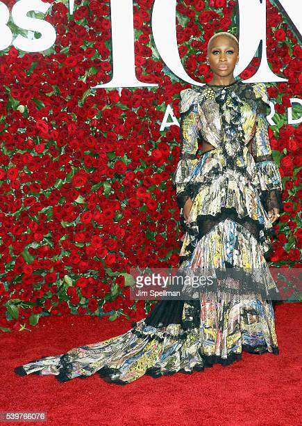 Singer/songwriter Cynthia Erivo attends the 70th Annual Tony Awards at Beacon Theatre on June 12 2016 in New York City