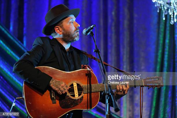 Singersongwriter Dallas Green performs onstage during the 63rd Annual BMI Pop Awards held at the Beverly Wilshire Hotel on May 12 2015 in Beverly...