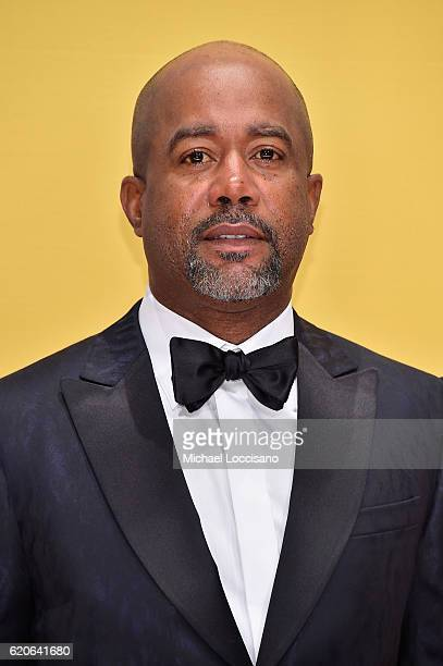 Singersongwriter Darius Rucker attends the 50th annual CMA Awards at the Bridgestone Arena on November 2 2016 in Nashville Tennessee