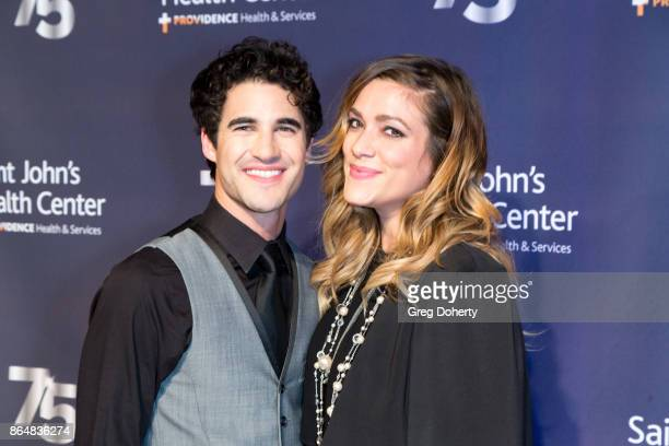 Singersongwriter Darren Criss and Director Mia Swier attend the Saint John's Health Center Foundation's 75th Anniversary Gala Celebration at 3LABS on...