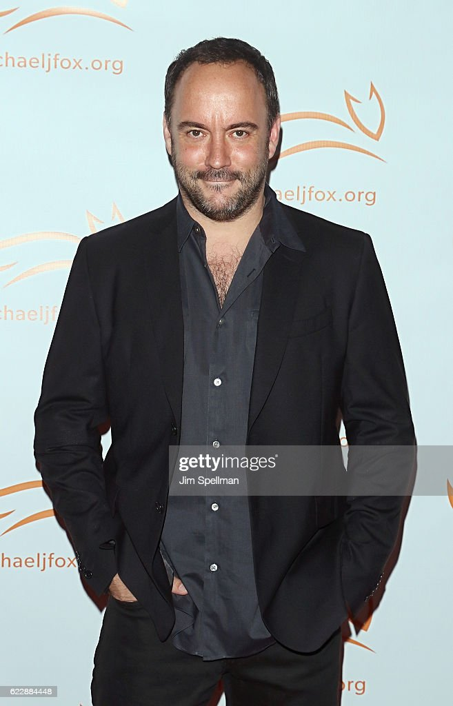 Singer/songwriter Dave Matthews attends the 2016 A Funny Thing Happened On The Way To Cure Parkinson's at The Waldorf Astoria on November 12, 2016 in New York City.
