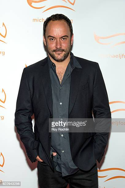 Singer/songwriter Dave Matthews attends the 2016 A Funny Thing Happened On The Way To Cure Parkinson's at The Waldorf=Astoria on November 12 2016 in...