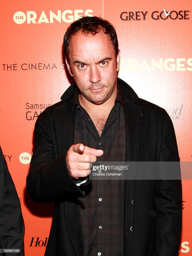 Singer/songwriter Dave Matthews attends The Cinema Society with The Hollywood Reporter & Samsung Galaxy S III host a screening of 'The Oranges' at Tribeca Screening Room on September 14, 2012 in New York City.