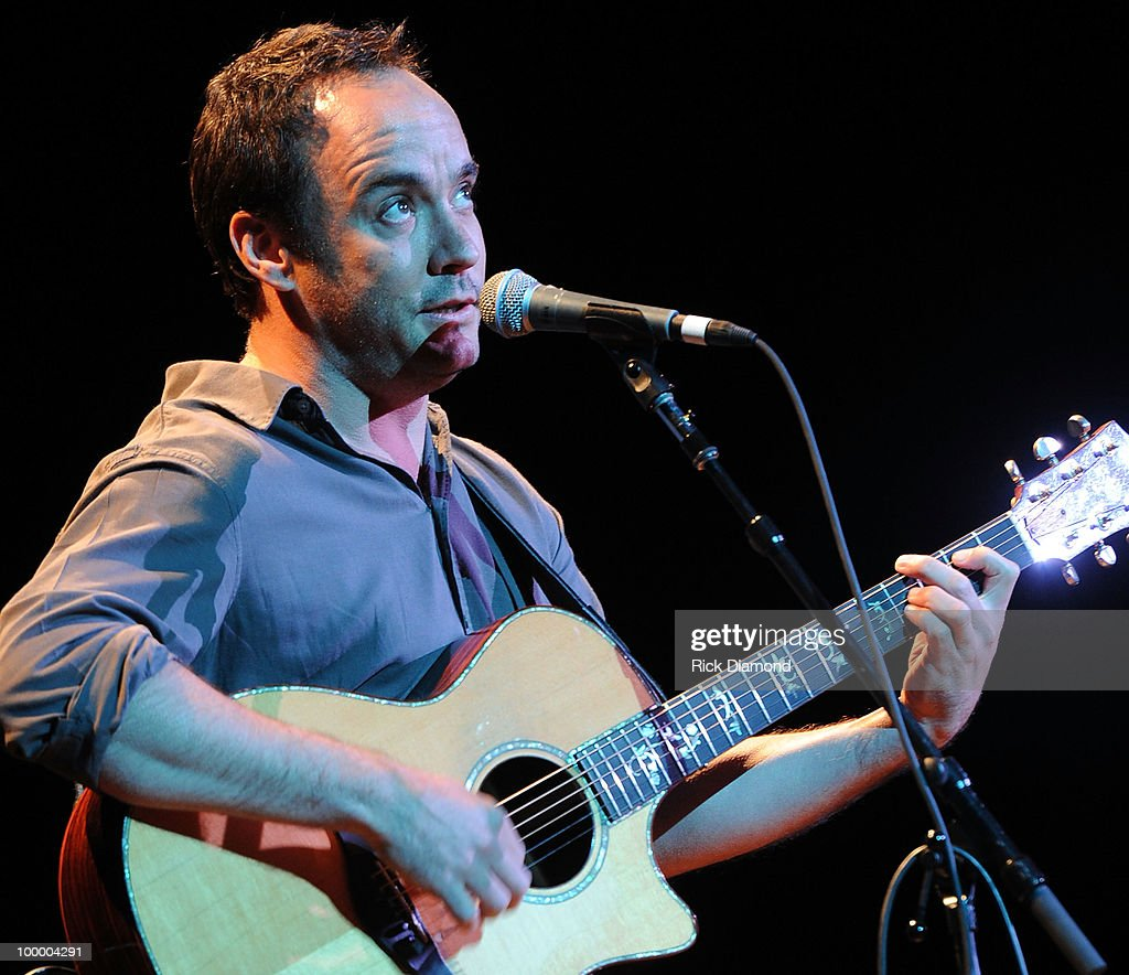 Singer/Songwriter Dave Matthews performs during the 'Music Saves Mountains' benefit concert at the Ryman Auditorium on May 19, 2010 in Nashville, Tennessee.