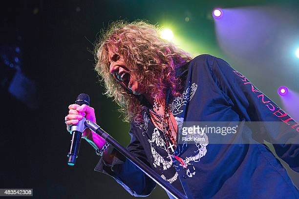 Singersongwriter David Coverdale of Whitesnake performs in concert at ACL Live on August 9 2015 in Austin Texas