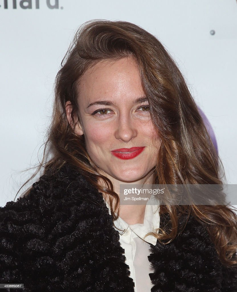 Singer/songwriter Dawn Landes attends the Women In Music presents their 2013 holiday party at Le Poisson Rouge on December 4, 2013 in New York City.