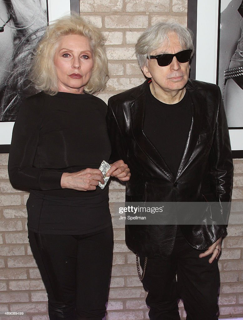 Singer/songwriter <a gi-track='captionPersonalityLinkClicked' href=/galleries/search?phrase=Debbie+Harry&family=editorial&specificpeople=209145 ng-click='$event.stopPropagation()'>Debbie Harry</a> and guitarist/photographer <a gi-track='captionPersonalityLinkClicked' href=/galleries/search?phrase=Chris+Stein&family=editorial&specificpeople=239488 ng-click='$event.stopPropagation()'>Chris Stein</a> attend the 'Blondie 4(0) Ever' Exhibition Opening at Morrison Hotel Gallery on May 9, 2014 in New York City.