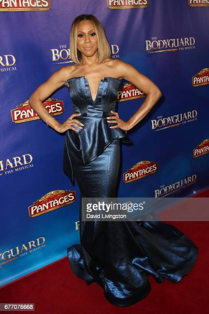 Singersongwriter Deborah Cox arrives at the premiere of 'The Bodyguard' at the Pantages Theatre on May 2 2017 in Hollywood California